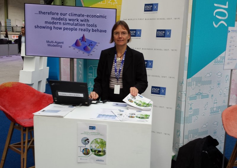 "Prof. Sylvie Geisendorf at ""Solutions COP21"""